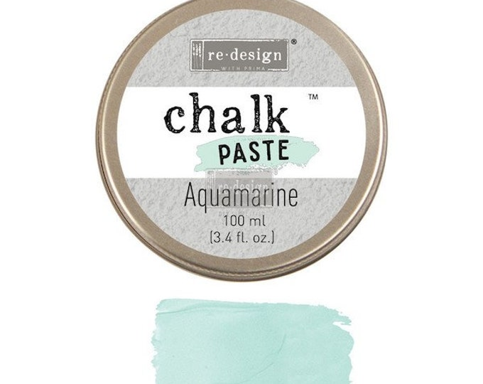 Chalk Paste for stencils AQUAMARINE from Prima Redesign, free shipping
