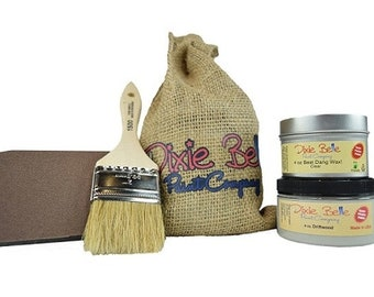 Dixie Belle Gift for Painters, Crafters, and People who love to make things! Paint, Wax, Brush, Sponge!