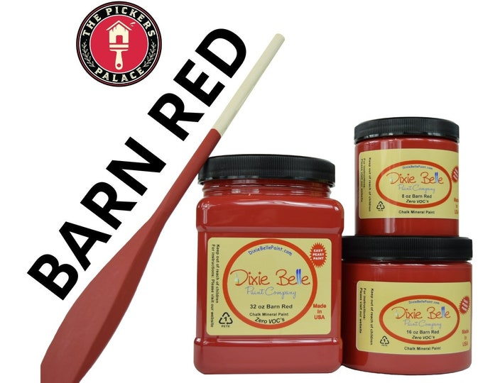 Shades of RED in Dixie Belle Chalk Paint , Chalk Mineral Paint, Furniture Paint, RED Paints,