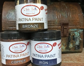 Dixie Belle Patina Paint : Iron, Copper, Bronze