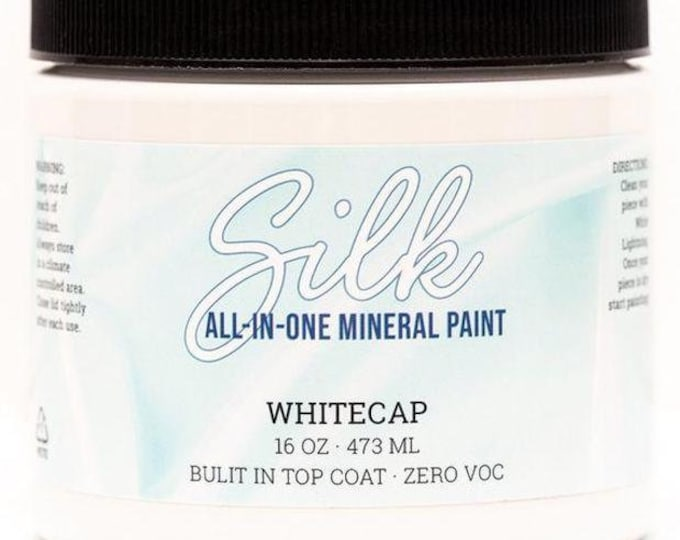 PREORDER SILK All in One Mineral Paint from Dixie Belle Now! WHITECAP Shipping late January.