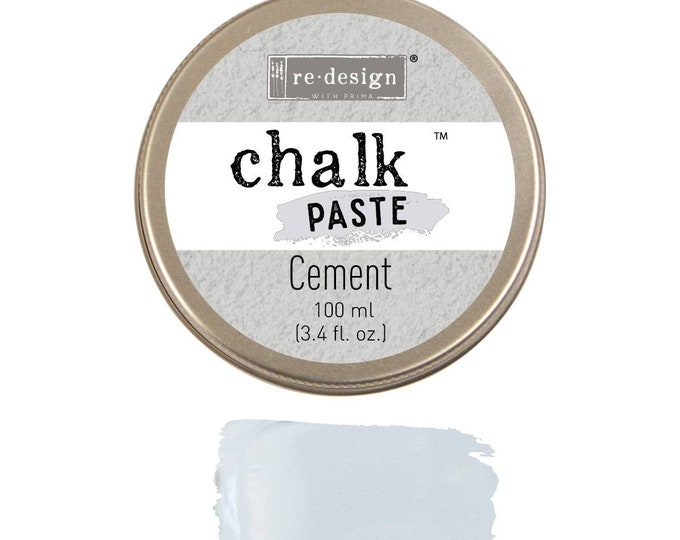 Chalk Paste for stencils  CEMENT from Prima Redesign, free shipping
