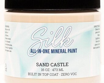 Sand Castle SILK All in One Mineral Paint from Dixie Belle, Silk Paint, Dixie Belle Paint
