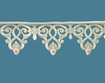 T14 Greek Scroll Trim, EFEX , Replacement Moulding, Historic Moulding, Silicone Moulding, Embellishment  , FREE SHIPPING