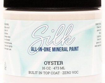 SILK All in One Mineral Paint from Dixie Belle Now!  OYSTER