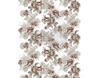 Natural Splendor Transfer with FREE SHIPPING, Redesign transfer, floral transfer, autumn transfer