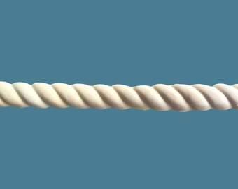 T52 Rope Trim Trim, EFEX , Replacement Moulding, Historic Moulding, Silicone Moulding, Embellishment  , FREE SHIPPING