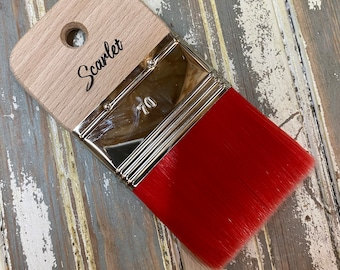 The Best Little Paint brush for everything! NEW SCARLET Paint brush from Dixie Belle Paint with Free Shipping