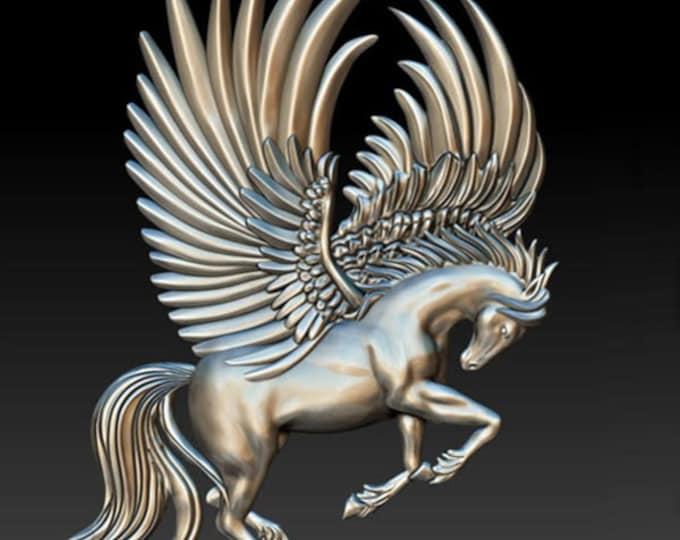 Pegasus Flight Zuri Mold, pegasus,  horse mould , decor mold , cake , chocolate mold, mixed media mold , Resin mold, Free shipping
