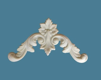 C45 French Country Corner, Set 0f 2, EFEX , Replacement Moulding, Historic Moulding, Silicone Moulding, Embellishment  , FREE SHIPPING