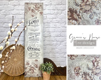 Family Heirloom Prima Redesign Decor Transfer with FREE SHIPPING