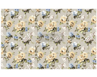 "NEW MARIGOLD Prima Decoupage Mulberry Tissue Paper,  Free Shipping  19"" x 30"" Re-Design with Prima"