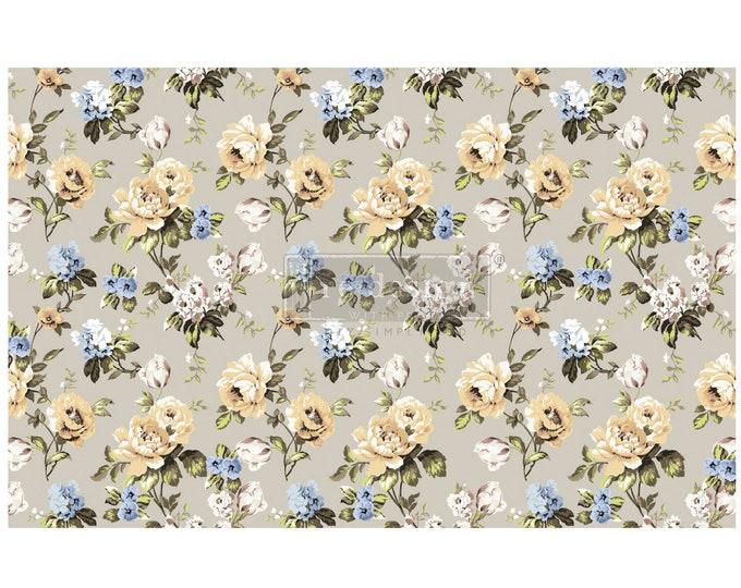 "NEW MARIGOLD Prima Decoupage Mulberry Tissue Paper,  Free Shipping  19"" x 30"" Re-Design with Prima"