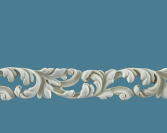 T31 Rococo Trim, EFEX, Replacement Moulding, Historic Moulding, Silicone Moulding, Embellishment  , Made In USA, Free Shipping