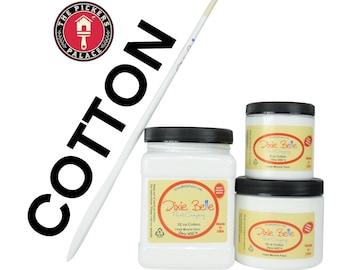COTTON White   Dixie Belle Paint, Chalk Mineral Furniture Paint, Cabinet Paint, Chalk Paint, Door Paint