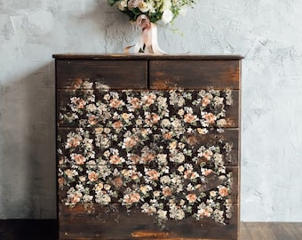 """MIDNIGHT AMBER Mulberry Decoupage  Tissue Paper with  Free Shipping  19"""" x 30"""""""