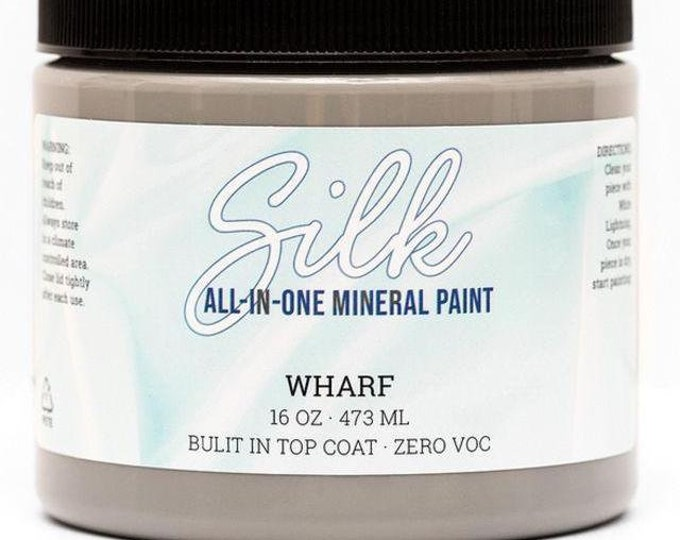 Wharf SILK All in One Mineral Paint from Dixie Belle , silk paint, dixie belle paint