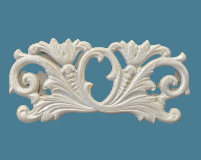 P17 Neo Classical Pediment, EFEX, Replacement Moulding, Historic Moulding, Silicone Moulding, Embellishment , Made In USA, Free Shipping