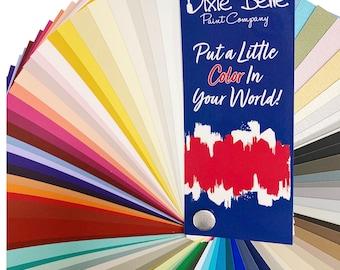 Color Cards for  Dixie Belle Paint Chalk Paint,  Dixie Belle Paint , Furniture Paint, Cabinet Paint, Stencil Paint, Textile Paint