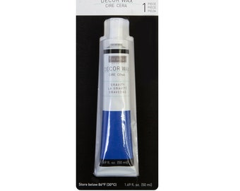 Gravity Blue Decor Wax for mixed media and furniture