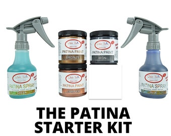 Dixie Belle Patina Paint Starter Kit includes 3 paints and 2 sprays FREE SHIPPING