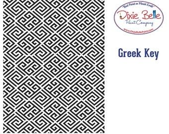 NEW! Dixie Belle Stencils, Greek Key Furniture Stencils, Mylar Stencils,  Wall stencil, stencils, FREE SHPPING