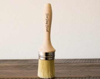 The Best Dang Brush Brush,  Dixie Belle Brush , Wax brush , Paint Brush, Round Brush, Premium Brush, Paint Gift, Craft supply  FREE SHIPPING