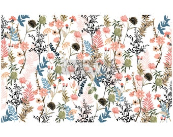 "NEW PRETTY MEADOWS Prima Decoupage Mulberry Tissue Paper,  Free Shipping  19"" x 30"" Re-Design with Prima"