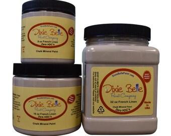 Dixie Belle FRENCH LINEN, Dixie Belle Paint French Linen, Furniture Paint, Cabinet Paint, Stencil Paint, Textile Paint