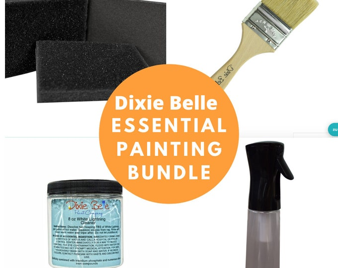 The Essential Dixie Belle Chalk Paint Starter kit,  DIY Kit, Free Shipping , Christmas Gift