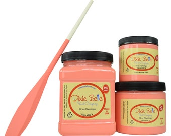 Dixie Belle FLAMINGO, Dixie Belle Paint Flamingo, Furniture Paint, Cabinet Paint, Chalk Paint