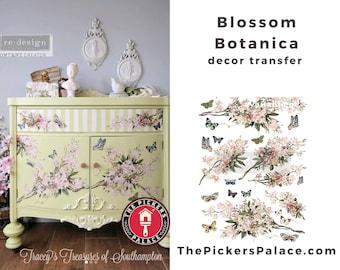 Blossom Botanica, Rub on Transfer, Exclusive Prima Transfers, Redesign Transfer, Free USA shipping, Prima Top Tier, International Shipping