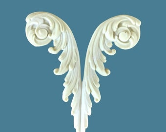 L1 Small Queen Anne Leg, EFEX , Replacement Moulding, Historic Moulding, Silicone Moulding, Embellishment  , FREE SHIPPING