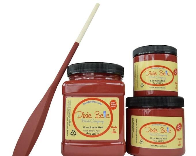 Dixie Belle Rustic Red, Furniture Paint, Cabinet Paint, Chalk Paint, paint