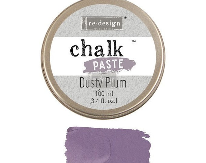 Chalk Paste for stencils DUSTY PLUM from Prima Redesign, free shipping