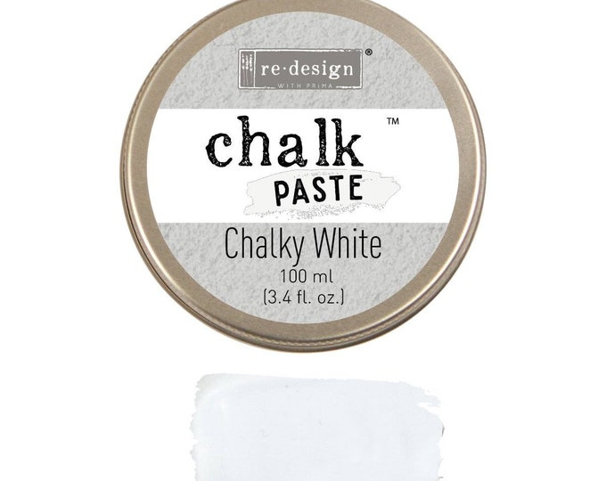 Chalk Paste for stencils  CHALKY WHITE from Prima Redesign, free shipping