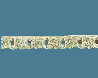 T13 French Flowers Trim, EFEX , Replacement Moulding, Historic Moulding, Silicone Moulding, Embellishment  , FREE SHIPPING