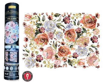 Roses and Rouge  transfer, Prima Transfers, Redesign Transfer, Free shipping