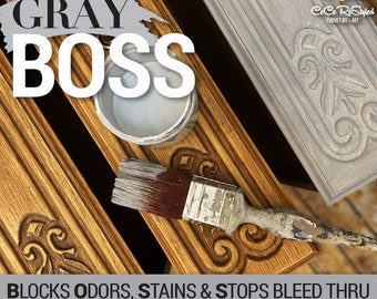 NEW GRAY BOSS From Dixie Belle, Primer for your paint or restoration, grey boss, for red and blue undertones