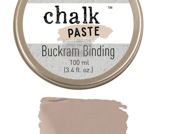 Chalk Paste for stencils BUCKRAM BINDING  from Prima Redesign, free shipping