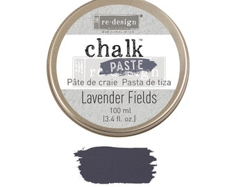 Chalk Paste  LAVENDAR FIELDS  from Prima Redesign, blue chalk paste,  stencils, furniture, painting,  free shipping