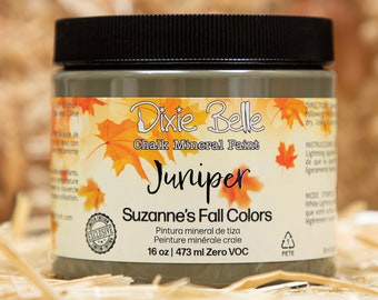 Limited Edition JUNIPER Suzanne's Fall Colors by  Dixie Belle Paint,