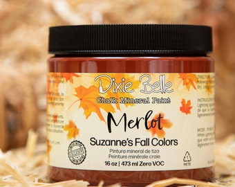 Limited Edition MERLOT Suzanne's Fall Colors by  Dixie Belle Paint,