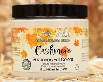 Limited Edition CASHMERE Suzanne's Fall Colors by  Dixie Belle Paint,
