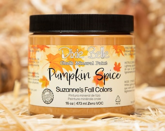 Limited Edition Pumpkin Spice Suzanne's Fall Colors by  Dixie Belle Paint
