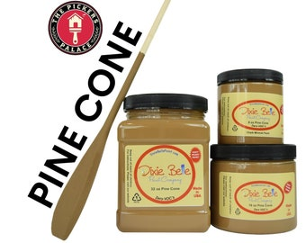PINECONE Brown Dixie Belle Paint, Chalk Mineral Furniture Paint, Cabinet Paint, Chalk Paint, Door Paint