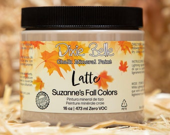 Limited Edition LATTE Suzanne's Fall Colors by  Dixie Belle Paint,