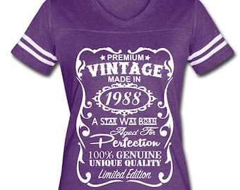 Stunning Velvety Th Birthday Gift For Woman Shirt Made In Year Old With Gifts 30 Something