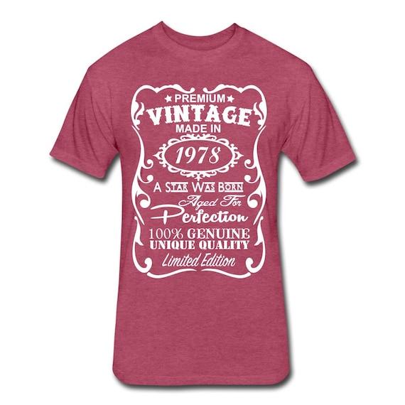 VELVETY 40th Birthday Shirt Funny Gift Ideas