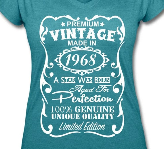 VELVETY 50th Birthday Shirt For Women Gift Ideas